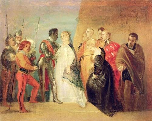 The Return of Othello, Act II, Scene ii from 'Othello', c.1799