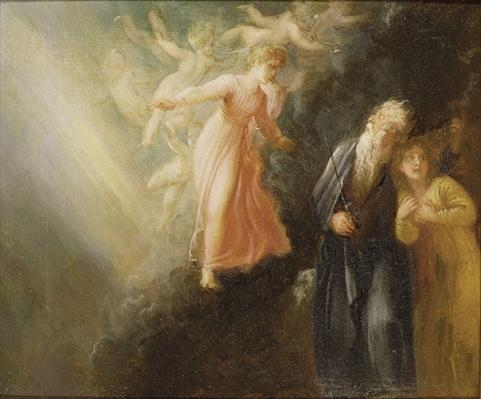Prospero, Miranda and Ariel, from 'The Tempest', c.1799