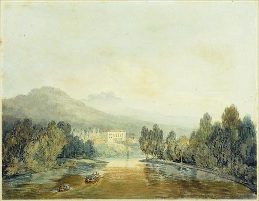 Villa Salviati on the Arno, c.1796-97