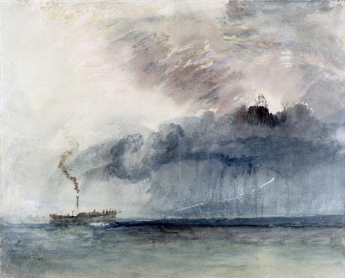 Steamboat in a Storm, c.1841