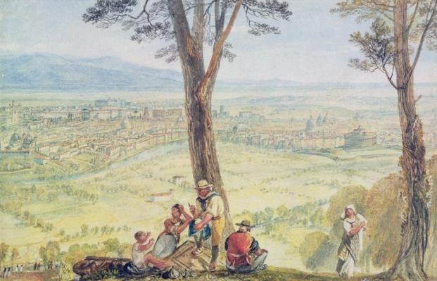 Rome from Monte Mario, c.1818