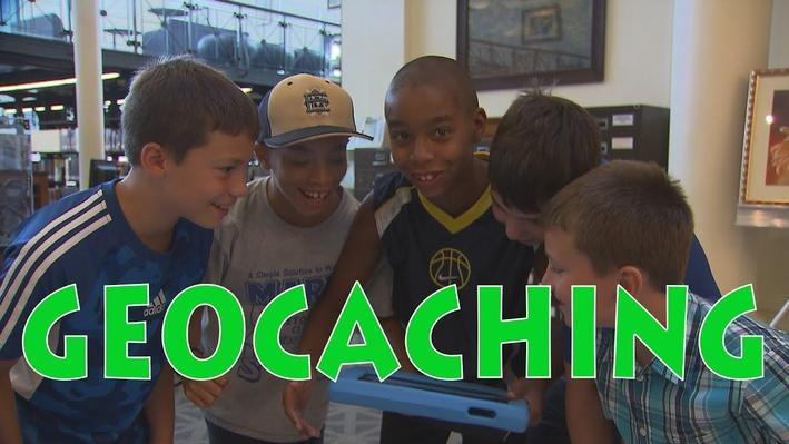 Read a Good Book: Kids Go Geocaching in Their Library