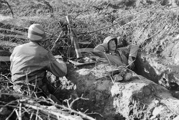 Mortar Crew Near Cassino | Ken Burns: The War