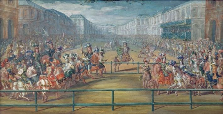 Carousel of Amazons in 1682
