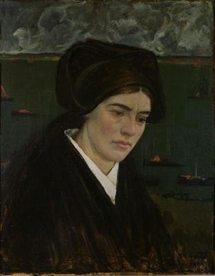 Young Woman at Ile de Sein, 1909