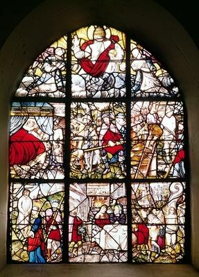 Window of the Pilgrims of St. James of Compostela, 1593