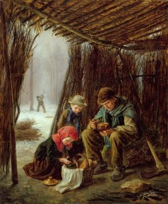 The Woodcutter's Meal, 1873