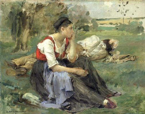 Resting Peasants, 1877