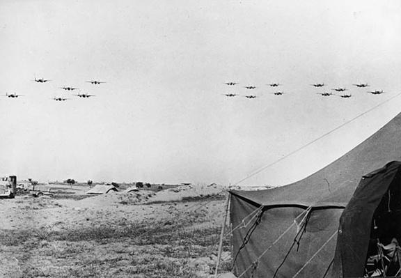 B-25s over Tunisia | Ken Burns: The War