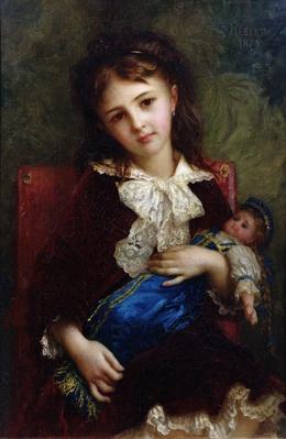 Portrait of Catherine du Bouchage, 1879