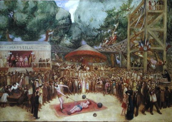 The Fair at Saint-Cloud, c.1920