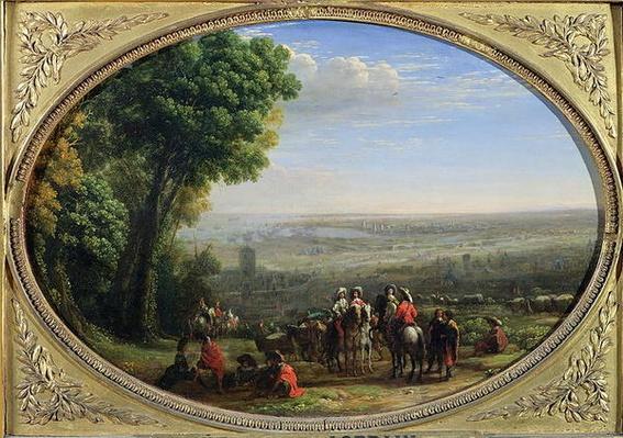 The Siege of La Rochelle by Louis XIII
