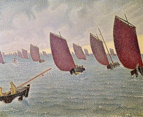 Breeze, Concarneau, 1891