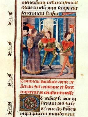 Ms 149 t.3 fol.183v How Baldwin I