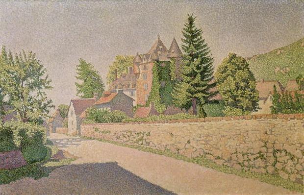 Chateau de Comblat, c.1887