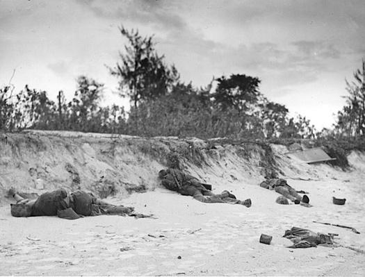 Killed in Action on the Beach | Ken Burns & Lynn Novick: The War