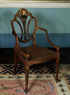 Armchair, by George Seddon, c.1780