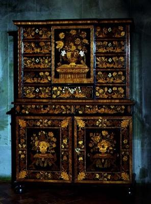 Marquetry Cabinet