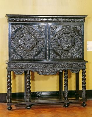 Endymion cabinet, French, c. 1650
