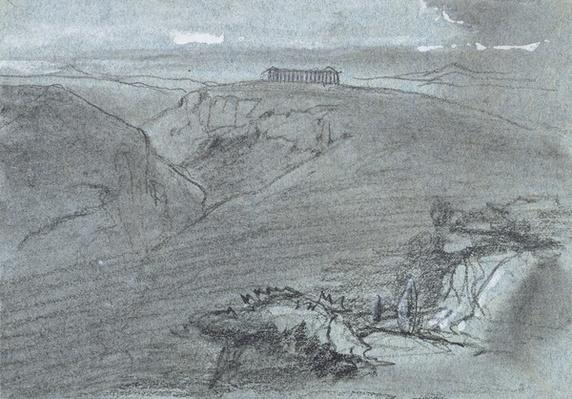 Segesta, from 'Views of Sicily'