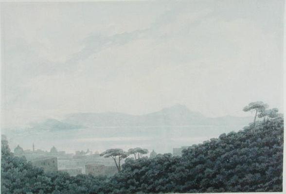 The Bay of Naples from Capodimonte, Italy, c.1790