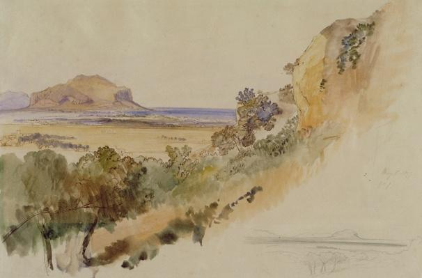 View near Palermo, 1847