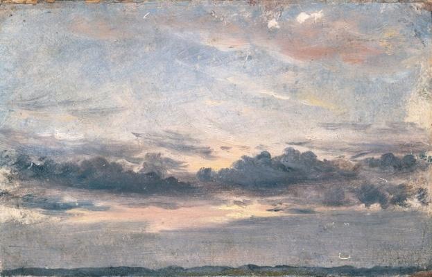 A Cloud Study, Sunset, c.1821