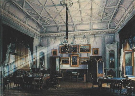 Blue Study of Emperor Alexander II