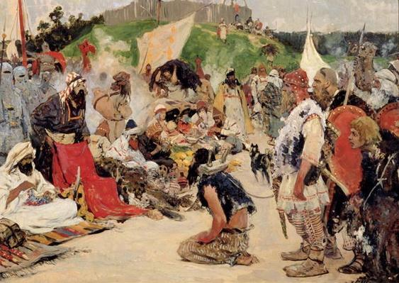 Haggling for Eastern Slaves, 1909