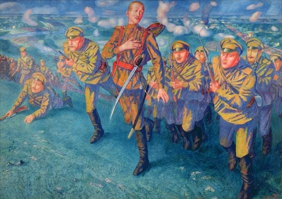 In the Firing Line, 1916