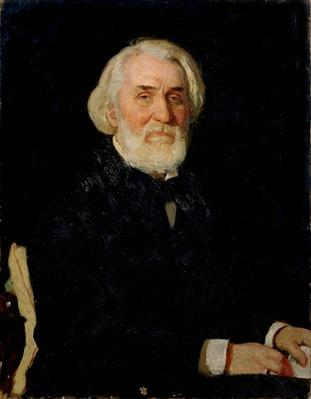 Portrait of Ivan S. Turgenev