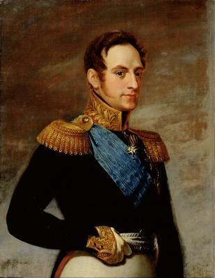 Portrait of Tsar Nicholas I