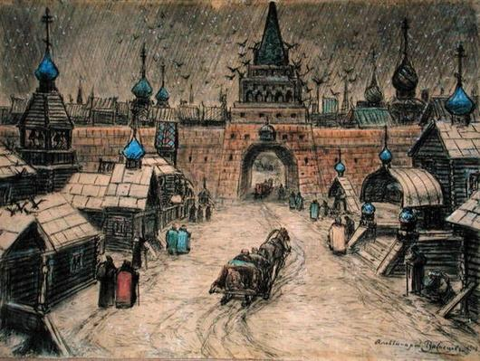Old Moscow, 1908