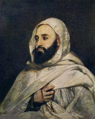 Portrait of Abd el-Kader