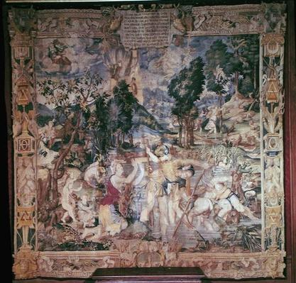 The Story of Latona, from the Story of Diana by Fontainebleau School, (16th century)
