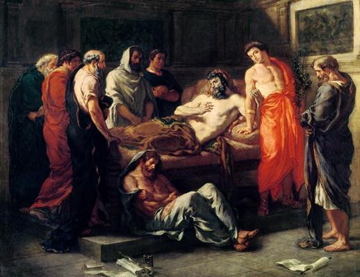 Study for The Death of Marcus Aurelius