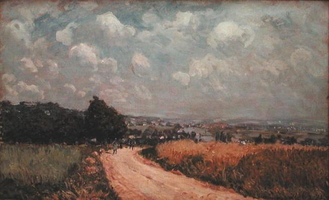 Turning Road or, View of the Seine, 1875
