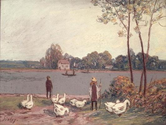 On the Banks of the Loing