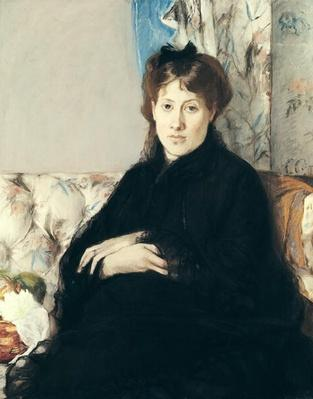 Portrait of Madame Edma Pontillon