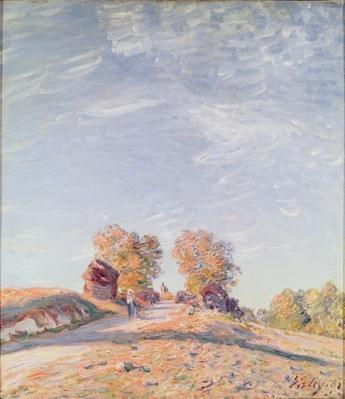 Uphill Road in Sunshine, 1891