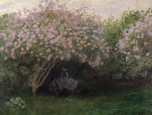 Lilacs, Grey Weather, 1872