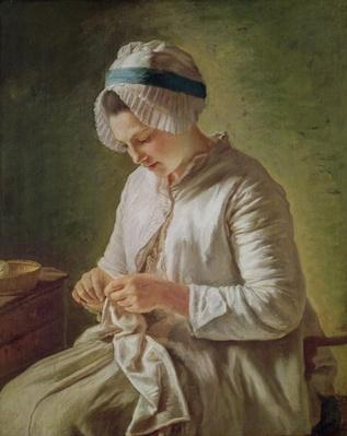 The Seamstress or, Young Woman Working