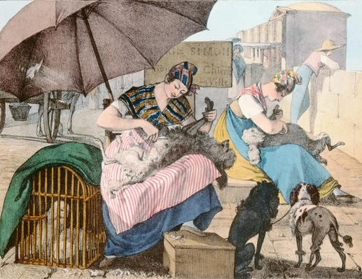 The Dog Groomers, 1820