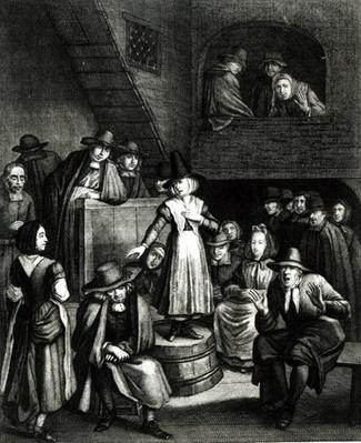 Quaker Meeting, 1699