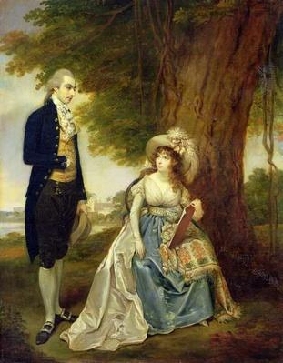 Mr and Mrs Fraser, c.1785-90