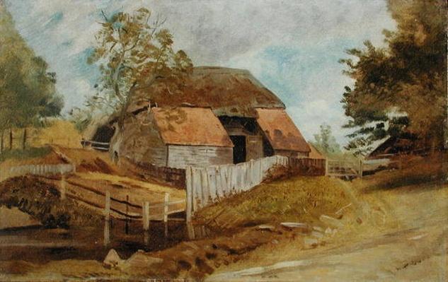 Old Barn, c.1855