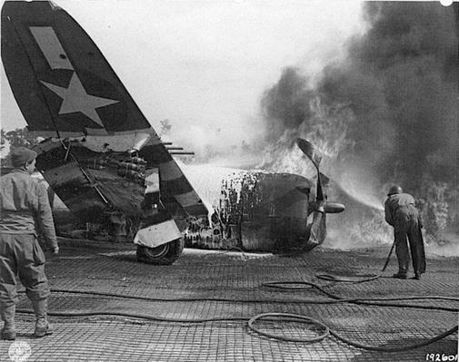 Wrecked P-47 Thunderbolt | Ken Burns: The War