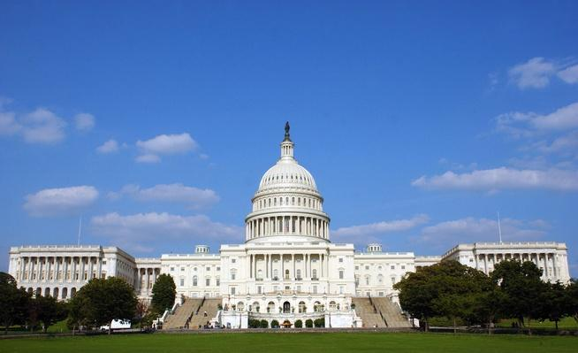 U.S. Capitol In Washington | Monuments and Buildings