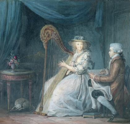 The Beautiful Harpist
