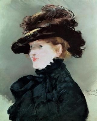 Portrait of Mery Laurent